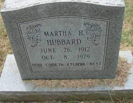HUBBARD, MARTHA H. - Pulaski County, Arkansas | MARTHA H. HUBBARD - Arkansas Gravestone Photos