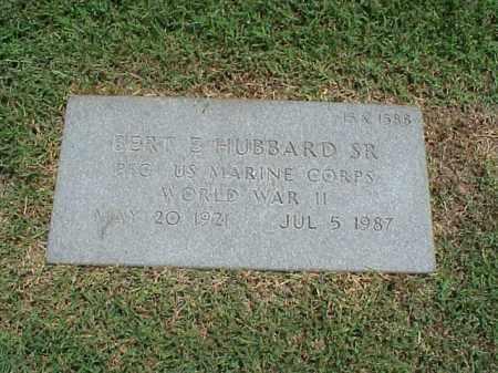 HUBBARD, SR (VETERAN WWII), BERT E - Pulaski County, Arkansas | BERT E HUBBARD, SR (VETERAN WWII) - Arkansas Gravestone Photos