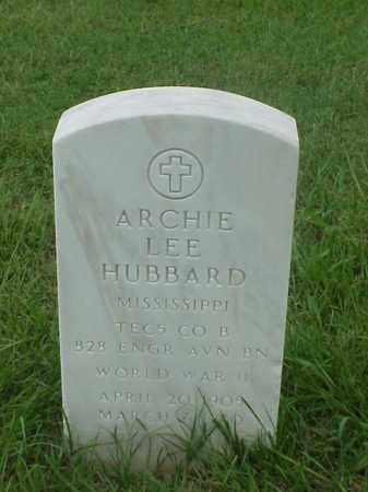 HUBBARD (VETERAN WWII), ARCHIE LEE - Pulaski County, Arkansas | ARCHIE LEE HUBBARD (VETERAN WWII) - Arkansas Gravestone Photos