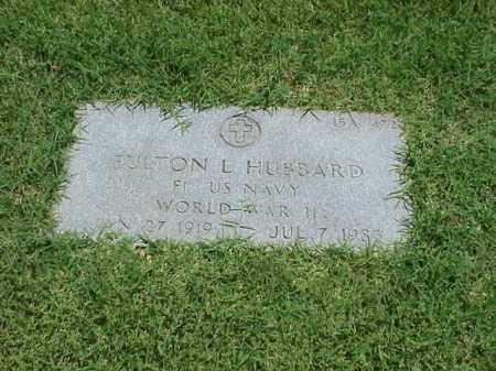 HUBBARD (VETERAN WWII), FULTON L - Pulaski County, Arkansas | FULTON L HUBBARD (VETERAN WWII) - Arkansas Gravestone Photos