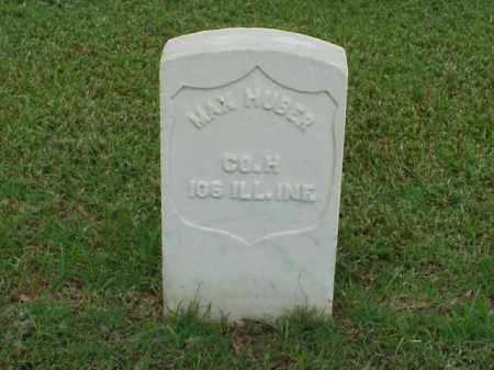 HUBER (VETERAN UNION), MAX - Pulaski County, Arkansas | MAX HUBER (VETERAN UNION) - Arkansas Gravestone Photos