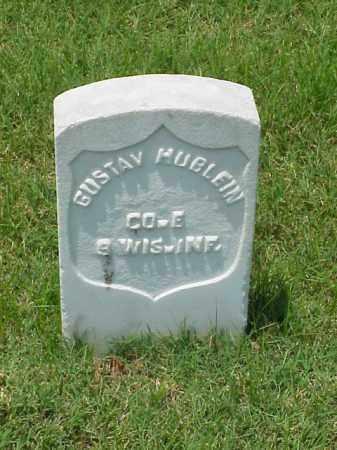 HUBLEIN (VETERAN UNION), GUSTAV - Pulaski County, Arkansas   GUSTAV HUBLEIN (VETERAN UNION) - Arkansas Gravestone Photos