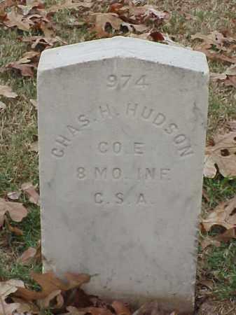 HUDSON  (VETERAN CSA), CHARLES H - Pulaski County, Arkansas   CHARLES H HUDSON  (VETERAN CSA) - Arkansas Gravestone Photos