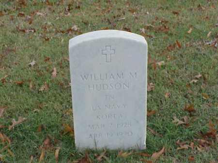HUDSON  (VETERAN KOR), WILLIAM M - Pulaski County, Arkansas   WILLIAM M HUDSON  (VETERAN KOR) - Arkansas Gravestone Photos