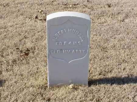HUDSON  (VETERAN UNION), ALBERT - Pulaski County, Arkansas | ALBERT HUDSON  (VETERAN UNION) - Arkansas Gravestone Photos