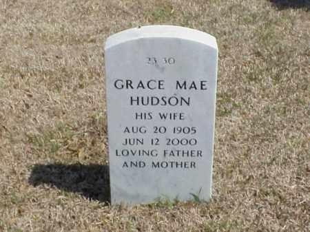 HUDSON, GRACE MAE - Pulaski County, Arkansas   GRACE MAE HUDSON - Arkansas Gravestone Photos