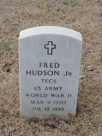 HUDSON, JR  (VETERAN WWII), FRED - Pulaski County, Arkansas   FRED HUDSON, JR  (VETERAN WWII) - Arkansas Gravestone Photos