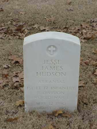 HUDSON (VETERAN WWI), JESSE JAMES - Pulaski County, Arkansas | JESSE JAMES HUDSON (VETERAN WWI) - Arkansas Gravestone Photos