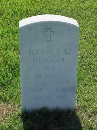 HUDSON (VETERAN WWII), HARVEY L - Pulaski County, Arkansas   HARVEY L HUDSON (VETERAN WWII) - Arkansas Gravestone Photos