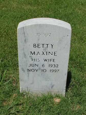 HUENEFELD, BETTY MAXINE - Pulaski County, Arkansas | BETTY MAXINE HUENEFELD - Arkansas Gravestone Photos
