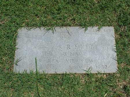 HUETT (VETERAN 2 WARS), DENVER R - Pulaski County, Arkansas | DENVER R HUETT (VETERAN 2 WARS) - Arkansas Gravestone Photos