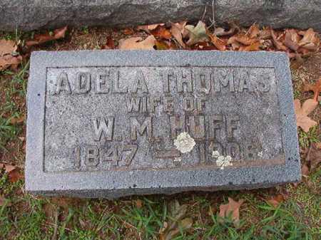 THOMAS HUFF, ADELA - Pulaski County, Arkansas   ADELA THOMAS HUFF - Arkansas Gravestone Photos