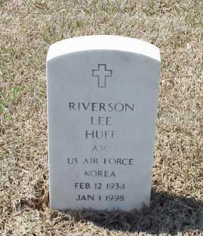 HUFF (VETERAN KOR), RIVERSON LEE - Pulaski County, Arkansas | RIVERSON LEE HUFF (VETERAN KOR) - Arkansas Gravestone Photos
