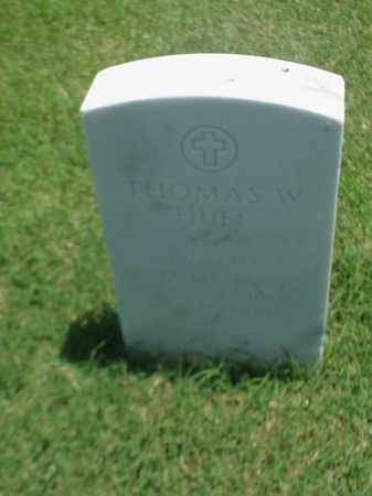HUFF (VETERAN WWII), THOMAS W - Pulaski County, Arkansas | THOMAS W HUFF (VETERAN WWII) - Arkansas Gravestone Photos