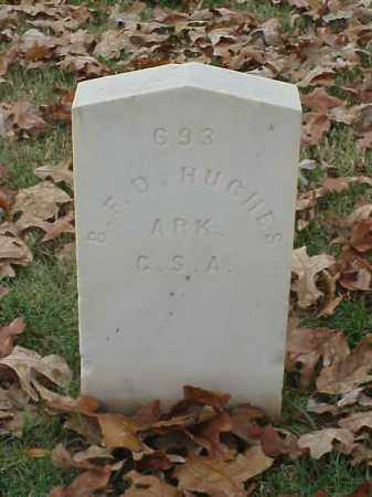 HUGHES  (VETERAN CSA), B F D - Pulaski County, Arkansas | B F D HUGHES  (VETERAN CSA) - Arkansas Gravestone Photos