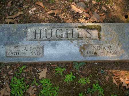 HUGHES, NINA V - Pulaski County, Arkansas | NINA V HUGHES - Arkansas Gravestone Photos