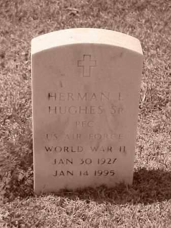 HUGHES, SR (VETERAN WWII), HERMAN L - Pulaski County, Arkansas | HERMAN L HUGHES, SR (VETERAN WWII) - Arkansas Gravestone Photos