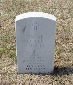 HUGHES (VETERAN 2 WARS), OSCAR ODELL - Pulaski County, Arkansas | OSCAR ODELL HUGHES (VETERAN 2 WARS) - Arkansas Gravestone Photos