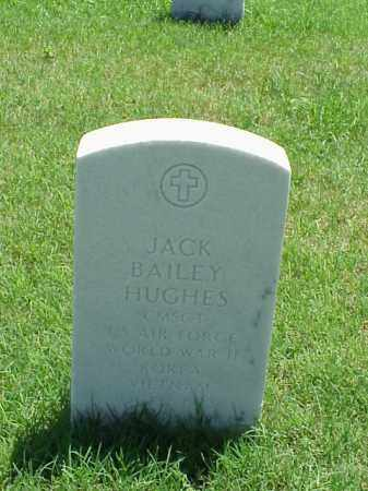 HUGHES (VETERAN 3 WARS), JACK BAILEY - Pulaski County, Arkansas | JACK BAILEY HUGHES (VETERAN 3 WARS) - Arkansas Gravestone Photos