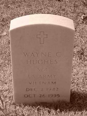HUGHES (VETERAN VIET), WAYNE C - Pulaski County, Arkansas   WAYNE C HUGHES (VETERAN VIET) - Arkansas Gravestone Photos