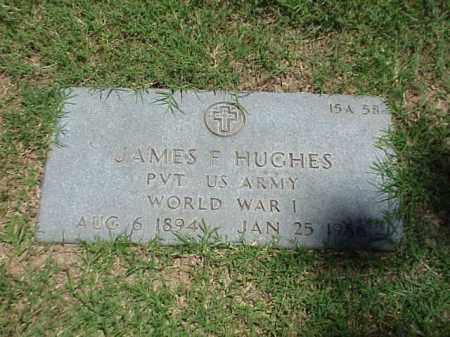 HUGHES (VETERAN WWI), JAMES F - Pulaski County, Arkansas   JAMES F HUGHES (VETERAN WWI) - Arkansas Gravestone Photos