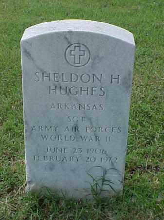 HUGHES (VETERAN WWII), SHELDON H - Pulaski County, Arkansas | SHELDON H HUGHES (VETERAN WWII) - Arkansas Gravestone Photos