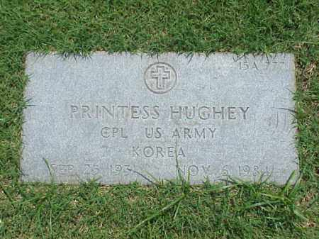 HUGHEY (VETERAN KOR), PRINTESS - Pulaski County, Arkansas | PRINTESS HUGHEY (VETERAN KOR) - Arkansas Gravestone Photos