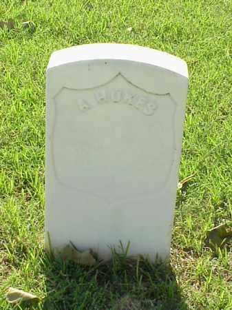 HUKES (VETERAN UNION), A - Pulaski County, Arkansas | A HUKES (VETERAN UNION) - Arkansas Gravestone Photos