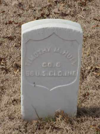 HULL  (VETERAN UNION), TIMOTHY M - Pulaski County, Arkansas | TIMOTHY M HULL  (VETERAN UNION) - Arkansas Gravestone Photos