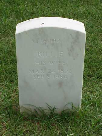 HULSEY, BILLIE - Pulaski County, Arkansas | BILLIE HULSEY - Arkansas Gravestone Photos