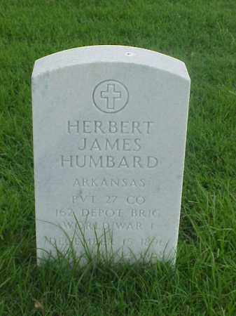 HUMBARD (VETERAN WWI), HERBERT JAMES - Pulaski County, Arkansas | HERBERT JAMES HUMBARD (VETERAN WWI) - Arkansas Gravestone Photos