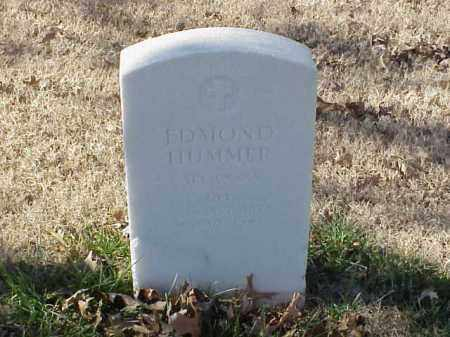 HUMMER  (VETERAN WWI), EDMOND - Pulaski County, Arkansas | EDMOND HUMMER  (VETERAN WWI) - Arkansas Gravestone Photos