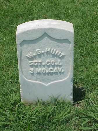 HUNT (VETERAN UNION), W G - Pulaski County, Arkansas | W G HUNT (VETERAN UNION) - Arkansas Gravestone Photos