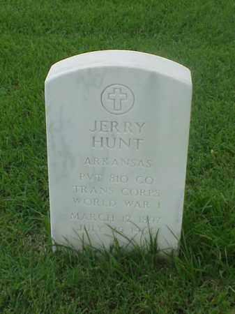 HUNT (VETERAN WWI), JERRY - Pulaski County, Arkansas | JERRY HUNT (VETERAN WWI) - Arkansas Gravestone Photos