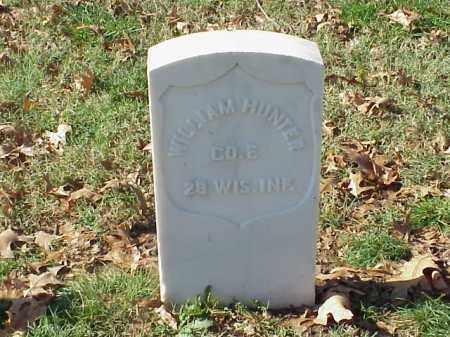HUNTER  (VETERAN UNION), WILLIAM - Pulaski County, Arkansas   WILLIAM HUNTER  (VETERAN UNION) - Arkansas Gravestone Photos
