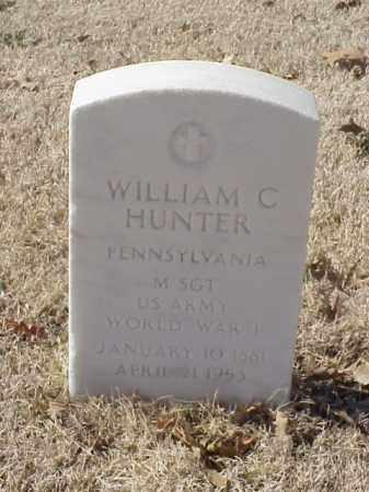 HUNTER  (VETERAN WWI), WILLIAM C - Pulaski County, Arkansas | WILLIAM C HUNTER  (VETERAN WWI) - Arkansas Gravestone Photos
