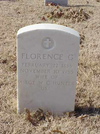 HUNTER, FLORENCE G - Pulaski County, Arkansas | FLORENCE G HUNTER - Arkansas Gravestone Photos