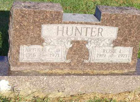 HUNTER JR, ARTHUR C - Pulaski County, Arkansas | ARTHUR C HUNTER JR - Arkansas Gravestone Photos