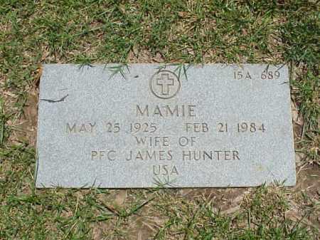 HUNTER, MAMIE - Pulaski County, Arkansas   MAMIE HUNTER - Arkansas Gravestone Photos
