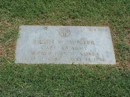 HUNTER (VETERAN 2 WARS), HUGH W - Pulaski County, Arkansas | HUGH W HUNTER (VETERAN 2 WARS) - Arkansas Gravestone Photos