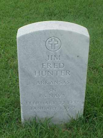 HUNTER (VETERAN), JIM FRED - Pulaski County, Arkansas | JIM FRED HUNTER (VETERAN) - Arkansas Gravestone Photos