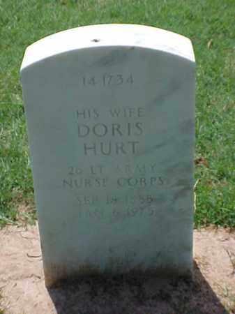 HURT (VETERAN), DORIS - Pulaski County, Arkansas | DORIS HURT (VETERAN) - Arkansas Gravestone Photos