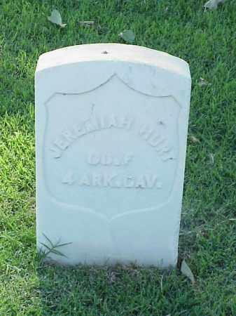 HURT (VETERAN UNION), JEREMIAH - Pulaski County, Arkansas | JEREMIAH HURT (VETERAN UNION) - Arkansas Gravestone Photos