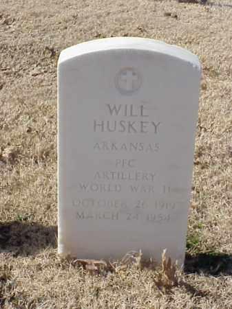 HUSKEY  (VETERAN WWII), WILL - Pulaski County, Arkansas | WILL HUSKEY  (VETERAN WWII) - Arkansas Gravestone Photos
