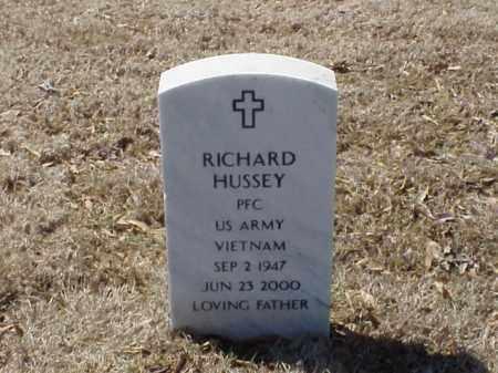 HUSSEY  (VETERAN VIET), RICHARD - Pulaski County, Arkansas | RICHARD HUSSEY  (VETERAN VIET) - Arkansas Gravestone Photos