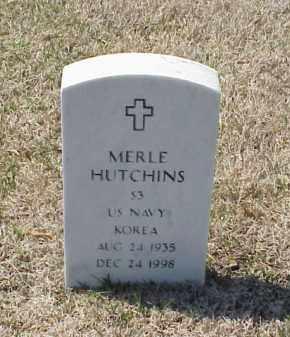 HUTCHINS (VETERAN KOR), MERLE - Pulaski County, Arkansas | MERLE HUTCHINS (VETERAN KOR) - Arkansas Gravestone Photos