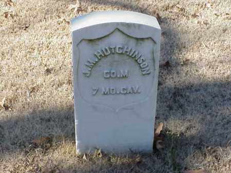 HUTCHINSON  (VETERAN UNION), J M - Pulaski County, Arkansas | J M HUTCHINSON  (VETERAN UNION) - Arkansas Gravestone Photos