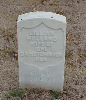 HOLLAND HUTCHINSON, LILLIAN - Pulaski County, Arkansas | LILLIAN HOLLAND HUTCHINSON - Arkansas Gravestone Photos