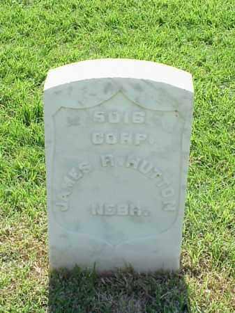 HUTTON (VETERAN UNION), JAMES R - Pulaski County, Arkansas | JAMES R HUTTON (VETERAN UNION) - Arkansas Gravestone Photos