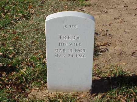 HYDE, FREDA - Pulaski County, Arkansas | FREDA HYDE - Arkansas Gravestone Photos